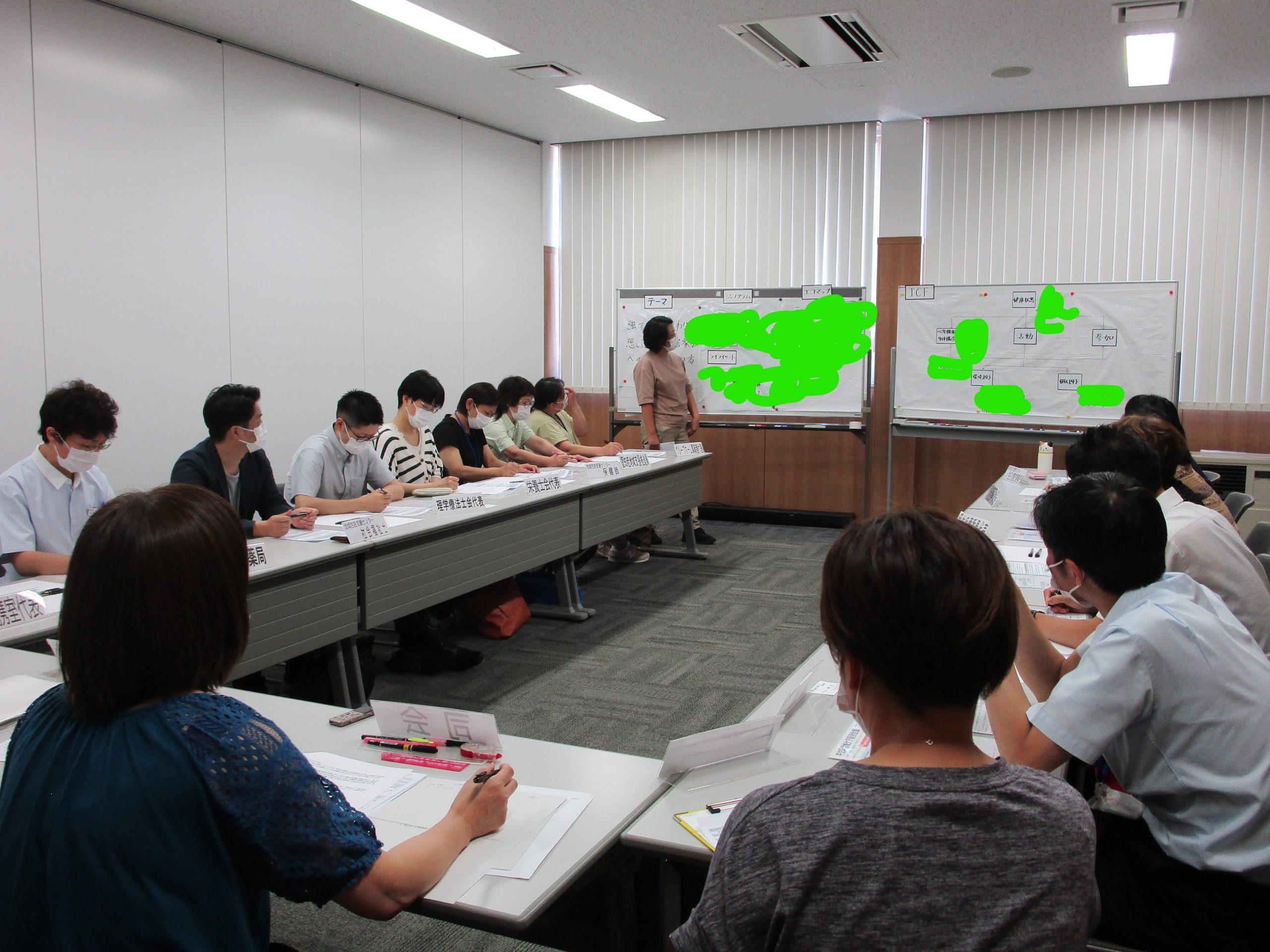 第1回地域ケア個別会議開催